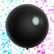 Balónek Babyshower je to kluk nebo holka? bez potisku s konfetami