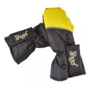 Rukavice s palcem Outlast barva Černá/žlutá