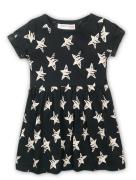 Šaty dívčí bavlněné Minoti 2KDRESS 27, černá