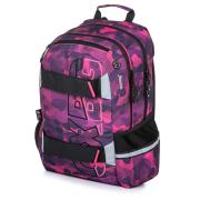 Studentský batoh OXY Sport Camo girl