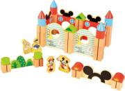 Disney Velké dřevěné kostky 60 ks Mickeyho hrad