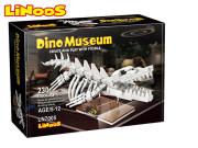 LiNooS stavebnice 230 ks skelet dinosaurus Mosasaurus