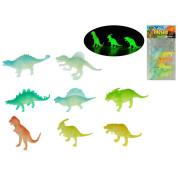 Dinosaurus svítící ve tmě 8 ks
