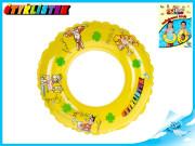Kruh Čtyřlístek transparentní 40cm