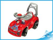 Auto odrážedlo červené s klaksonem