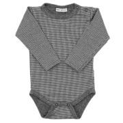 Zimní kojenecké body Hvězdičky šedá Baby Service