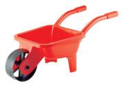 Zahradní kolečko plastové, zelené/červené