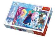 Puzzle Ledové Království - Překvapení pro Elsu 60 dílků