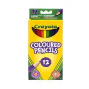Dlouhé pastelky 12ks Crayola
