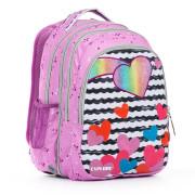 Školní batoh 2v1 ANNA Purple