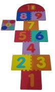 Pěnové puzzle skákací panák 11 ks