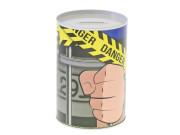 Pokladnička policie kovová 8,5x12 cm