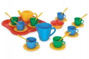Party World - Tác s nádobím plast 30ks Wader