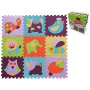 Pěnové puzzle 9 ks Zvířata 30 x 30 cm
