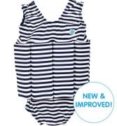 Dětský plováček se zipem - plavky - modrobílá