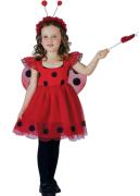 Kostým na karneval - beruška, 92-104 cm