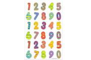 Samolepky čísla barevná Herlitz