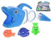 Vodní hra - delfín 27 cm + 3 rybičky