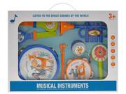 Sada hudebních nástrojů 7 ks s paličkami