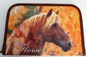 Jednopatrový penál plný Kůň 2016