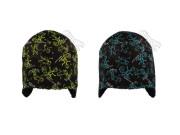Zimní čepice s podšívkou Wellsoft s potiskem Lyžaři