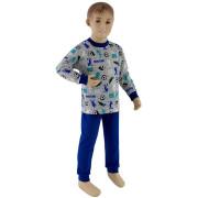 Chlapecké pyžamo fotbal tmavě modrá Esito Vel. 98 - 122