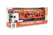 Kamion přepravník 33 cm se světlem a zvukem + 3 auta