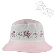 Dívčí letní klobouk Motýlci RDX