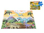 Puzzle dinosauři 90x60 cm 48 dílků