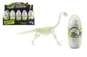 Vejce dinosaurus svítící 3D kostra