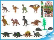 Dinosauři 3-6cm s doplňky v tubě