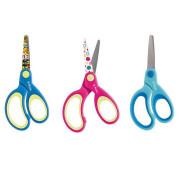 Herlitz - Dětské nůžky pro leváky s kulatou špičkou