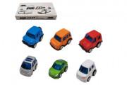Auto mini kov/plast 5 cm na zpětné natažení