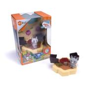 Malý set HEXBUG Lil Nature Babies - Nosorožec Zane a ukrytý poklad