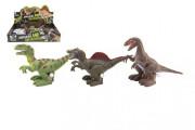 Dinosaurus natahovací se zvukem 9x15 cm