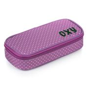 Pouzdro etue komfort Violet dots