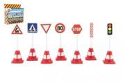 Dopravní značky plast 11,5 cm