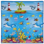 Scarlett dětský kobereček PVC Mořský svět - 120 x 100 cm