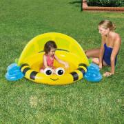Nafukovací bazének se stříškou 132x102x55 cm