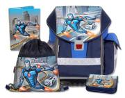 Školní batohový set ERGO TWO Roboman 4-dílný