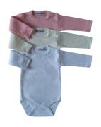 Body dlouhý rukáv Růžová Baby Service