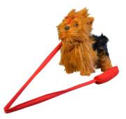 Pes Yorkshir, vesele štěká, chodí, 30cm