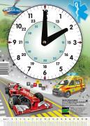 Hodiny školní Záchranáři - Formule Emipo