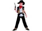 Karnevalový kostým - Kovboj, Vel. 120 -130 cm