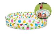 Bazének nafukovací Ananas kruh 132x28 cm Intex 59431
