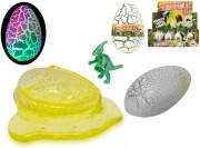 Hmota dinosauří vejce 9cm na baterie se světlem