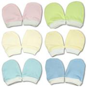 Bavlněné rukavičky pro novorozence