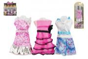 Oblečky/Šaty pro panenky 10-13 cm 6 druhů