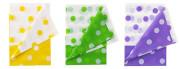 Ubrus plastový s puntíky 128 x 181 cm