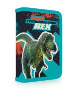 Penál 1 p. 2 chlopně Premium Dinosaurus prázdný